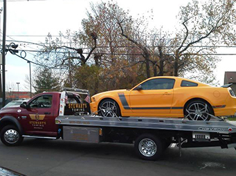Flatbed Truck Towing Service New Jersey