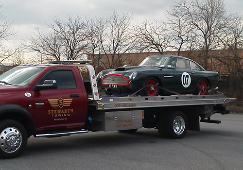 flat-bed towing service new jersey