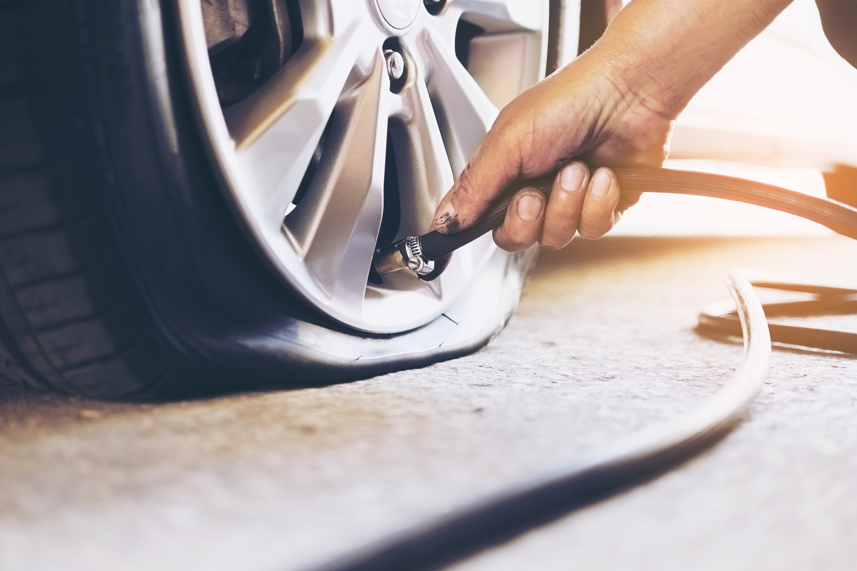 flat tire repair services in Belle Meade